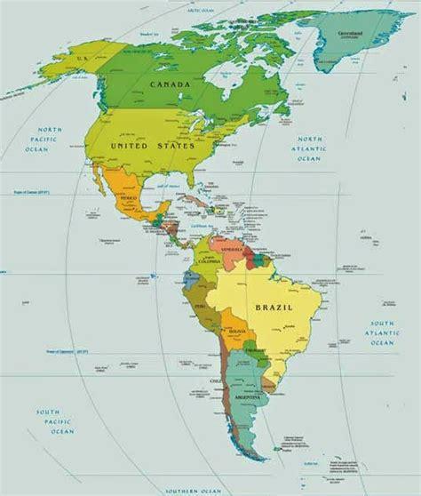 Mini 3 Di Amerika peta benua amerika world map weltkarte peta dunia