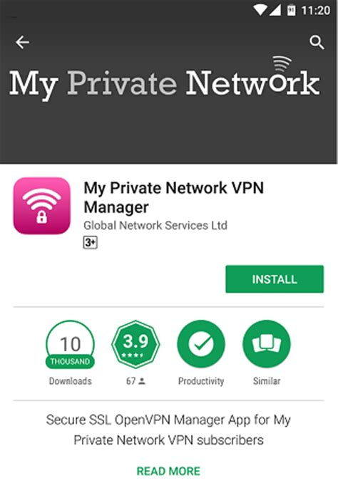 Play Store Vpn Android Vpn Manager App