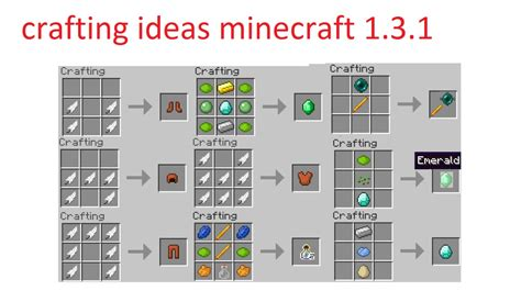 minecraft craft projects crafting ideas 2 minecraft