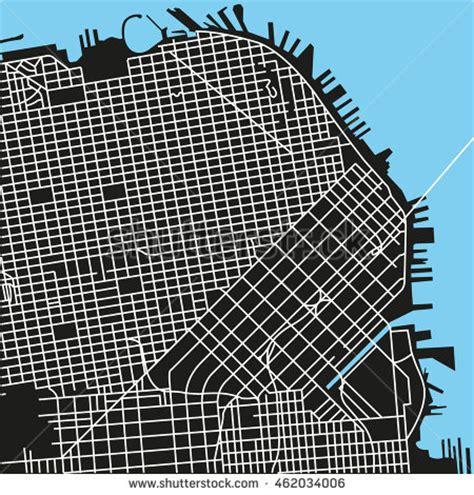 san francisco map black and white nicola renna s portfolio on