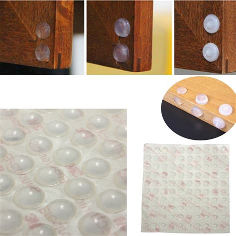 kitchen cabinet bumpers 100x self adhesive feet bumpers door cupboard drawer