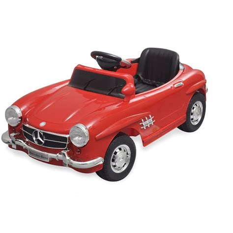 car mercedes red mercedes 300sl ride on pedal car red available in red