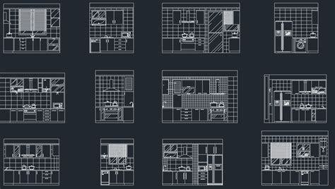 autocad section drawing kitchen section cad blocks free cad blocks and cad drawing