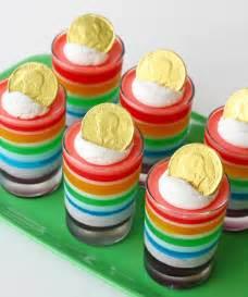 lucky rainbow jello glorious treats