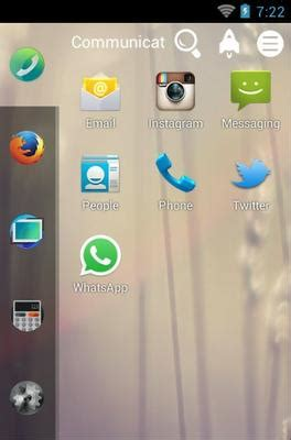 complete themes firefox android firefox android theme for smart launcher 2 androidlooks com