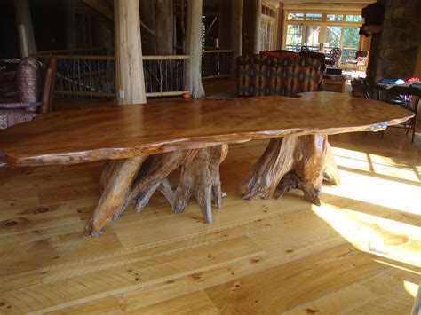 rustic farmhouse dining table with bench rustic dining table live edge wood slabs littlebranch farm