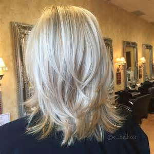 how to cut medium length hair in layers best 20 shoulder length cuts ideas on pinterest