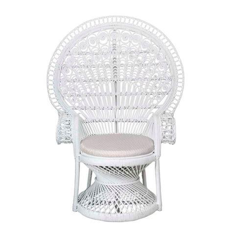 white peacock chair hire peacock chair bali event hire