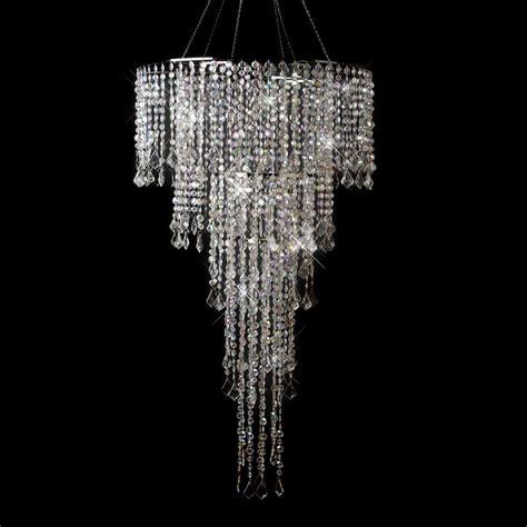 Chandelier Crystals Multi Cut Beaded Chandelier Ebay