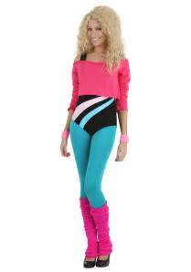 women s women s 80 s workout girl