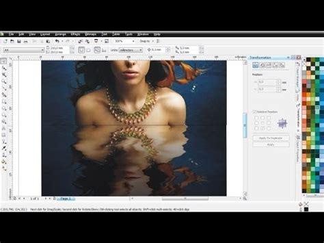 cara membuat not balok di coreldraw cara membuat efek bayangan air pada foto di coreldraw