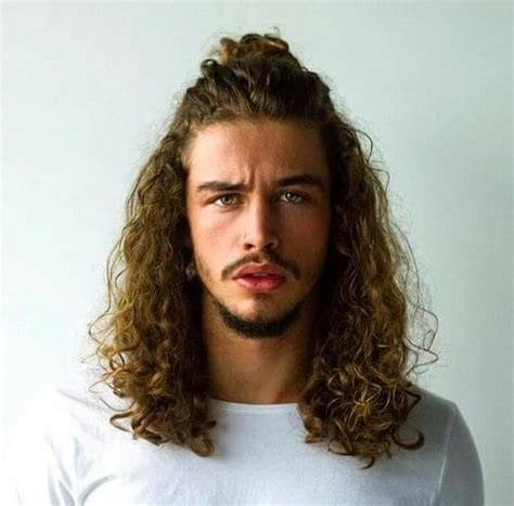 hairstyles curly hair tied up 13 hairstyles for men with long hair men health india