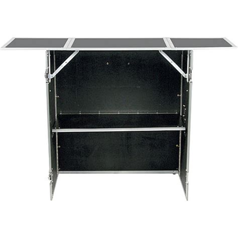 Dj Stand Table by Odyssey Innovative Designs Fzf5437 Folding Dj Stand And
