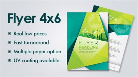 4x6 Flyer Printing Services Bay Area San Jose Printpapa Printpapa 4x6 Flyer Template