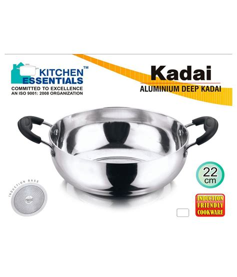 kitchen essentials induction base non stick kadai 2 5 ltr kitchen induction kadai 28 images anjali induction base kadai 2 0 litre with lid in india