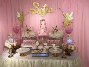 Pretty dessert table at a fairy birthday party see more party ideas