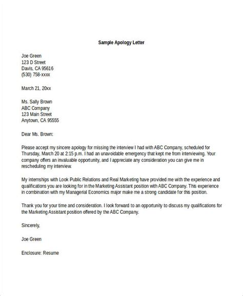 Formal Apology Letter Voldemort Formal Letter Sle Template 70 Free Word Pdf