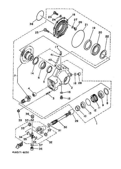 1999 yamaha kodiak 400 wiring diagram repair wiring scheme