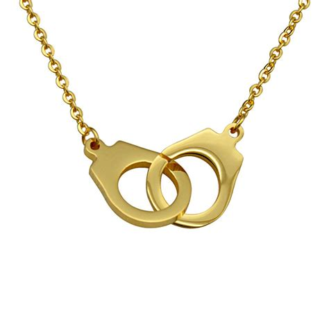 get cheap gold handcuff necklace aliexpress