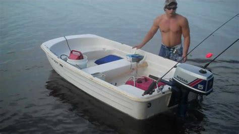 10 foot plastic boat 10 foot water tender for sale youtube
