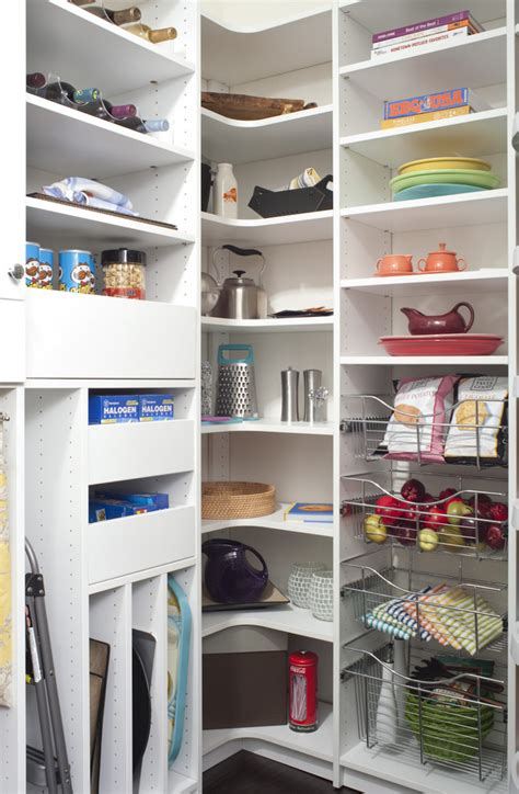 Cool corner shelving unit vogue other metro traditional kitchen innovative designs with baskets