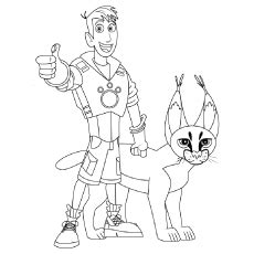 wild kratts coloring pages free printable momjunction