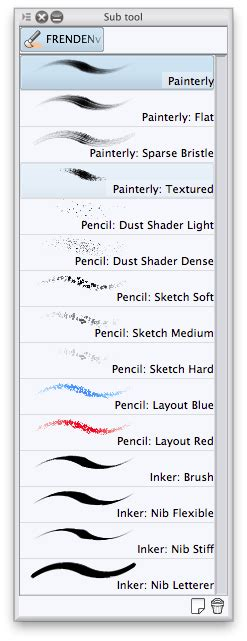 frenden studio brushes penciling and inking in studio 5 surface pro artist