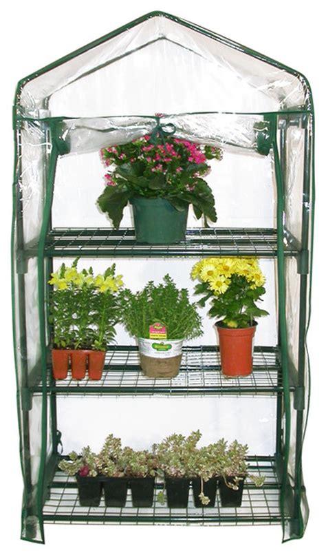 alpine 3 tier portable greenhouse planter traditional