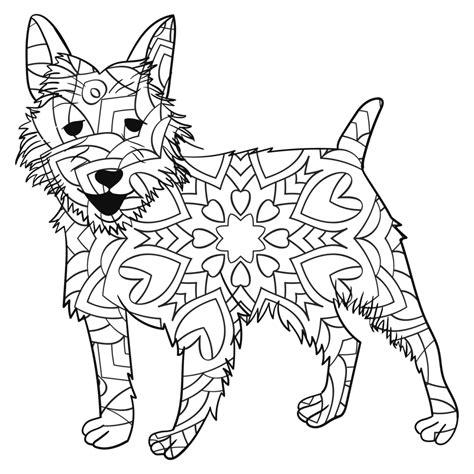 mandalas con animales 7 p mandalas de perros debuda net