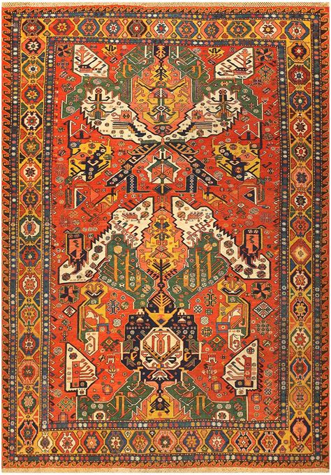 Antique Rugs by Antique Caucasian Soumak Rug 47273 By Nazmiyal Antique
