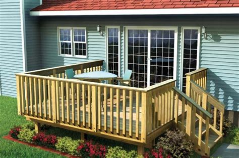 different deck designs deck designs here s an affordable and simple woo