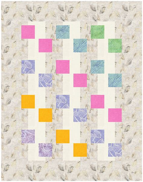 Printed Quilt by Let It Be Printed Quilt Pattern