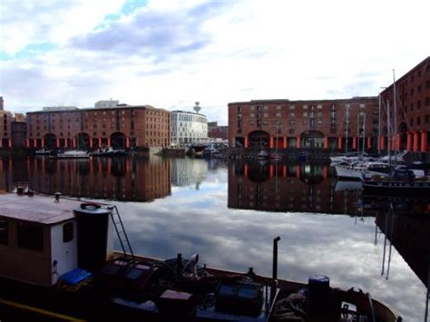 express liverpool from below the inn express albert dock