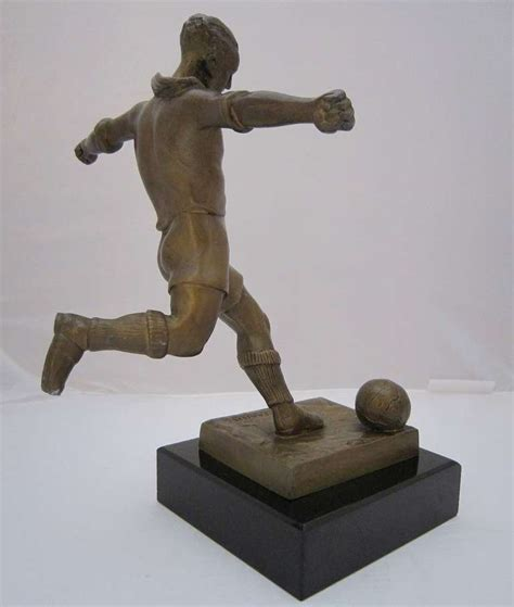 Sale Piala Trophy Figur Chion soccer trophy figure by edouard fraisse at 1stdibs