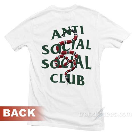 Snapback Anti Social Social Club Black Navy Marun Niro anti social social club assc gucci snake t shirt