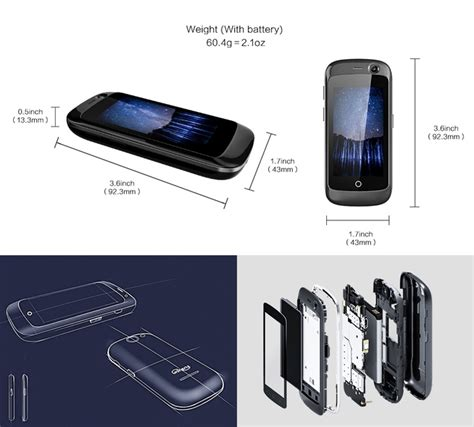 Jelly Phone unihertz jelly the world s smallest 4g android smartphone