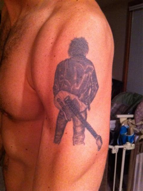 bruce springsteen tattoo bruce springsteen your rock tattoos the the bad