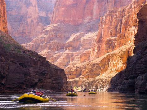 boat wash usa grand canyon rafting with oars phantom ranch whitmore wash