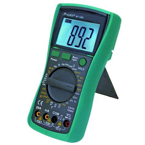 Multimeter Constant 89 digital multimeter mt 1280 the home depot