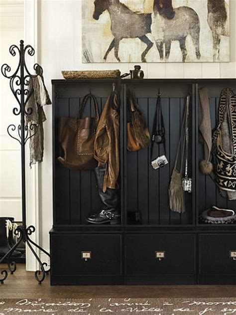 Ballard Design Lighting mudroom shoe racks pictures options tips and ideas