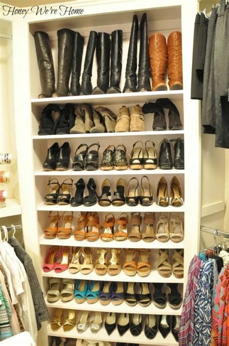 organized shoe storage without using an inch of precious floor space ikea hackers ikea hackers remodelaholic 25 ways to get organized in the new year