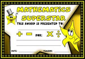 math certificate template math awards certificates