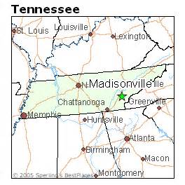 best places to live in madisonville tennessee