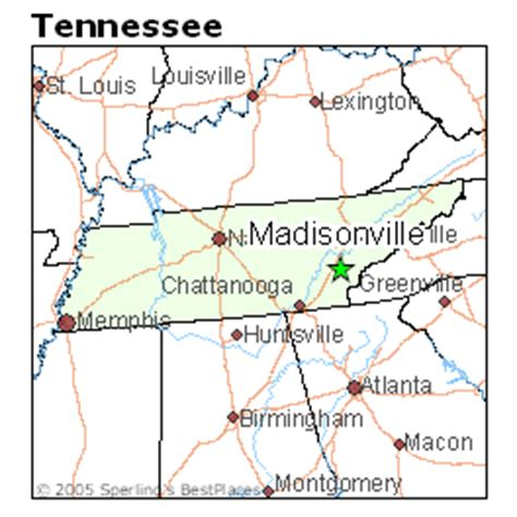 madisonville map best places to live in madisonville tennessee