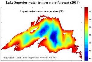 Lake Water Temperature Lake Superior Cold Boundary Waters
