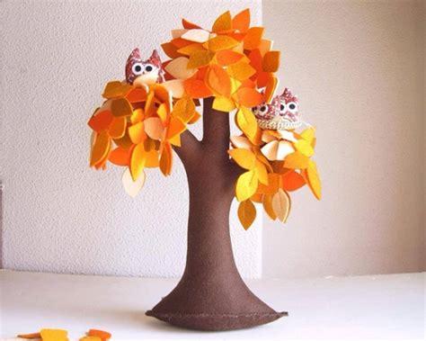 Handmade Tree - wonderful diy handmade felt trees