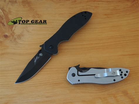 emerson knife company kershaw emerson cqc 6k pocket knife black 6034blk