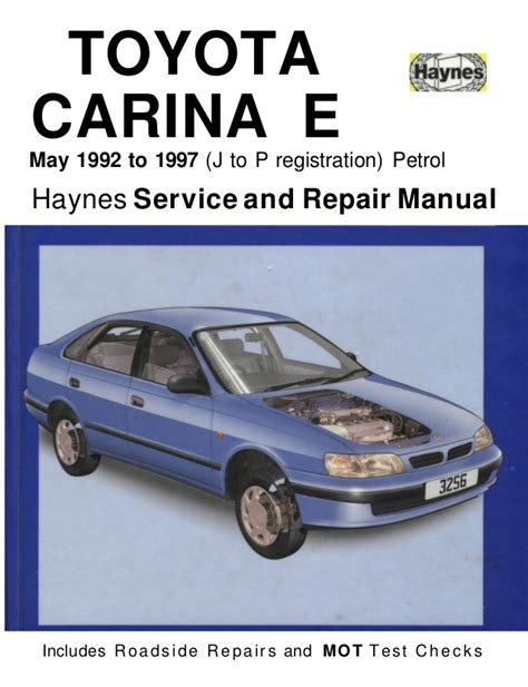 Toyota Auto Repair Toyota E 1992 1997 Haynes Service And Repair
