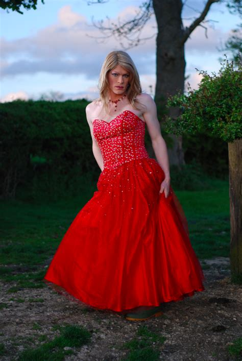prom dresses for transvestites quirky makeover styling photography gallery