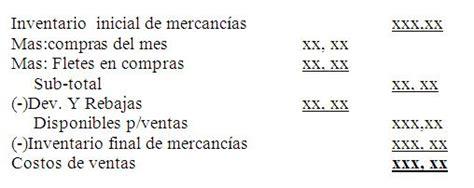 contabilizaci 243 n de los elementos del costo frmula para calcular la prima de servicios gerenciecom